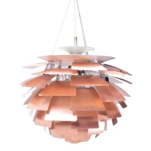 Poulsen vintage copper artichoke for sale danish design