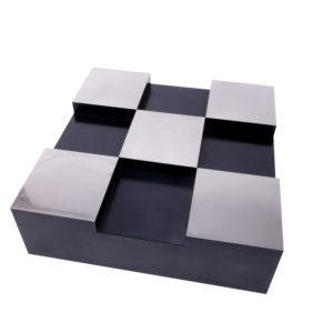 Willy Rizzo Checkered square Coffee Table, Acerbis