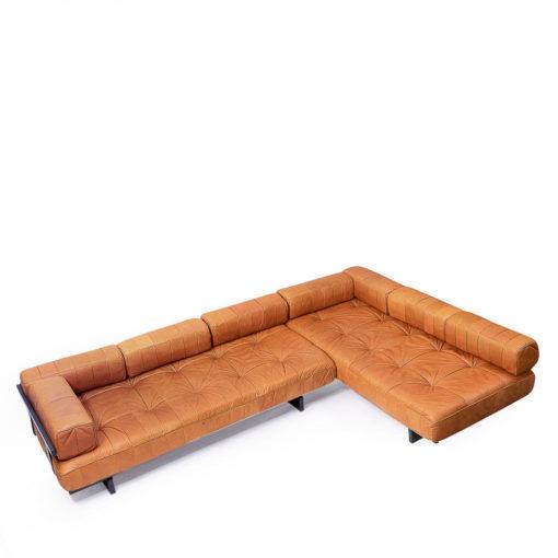 DS-80 De sede Cognac Leather Sofa Set, vintage